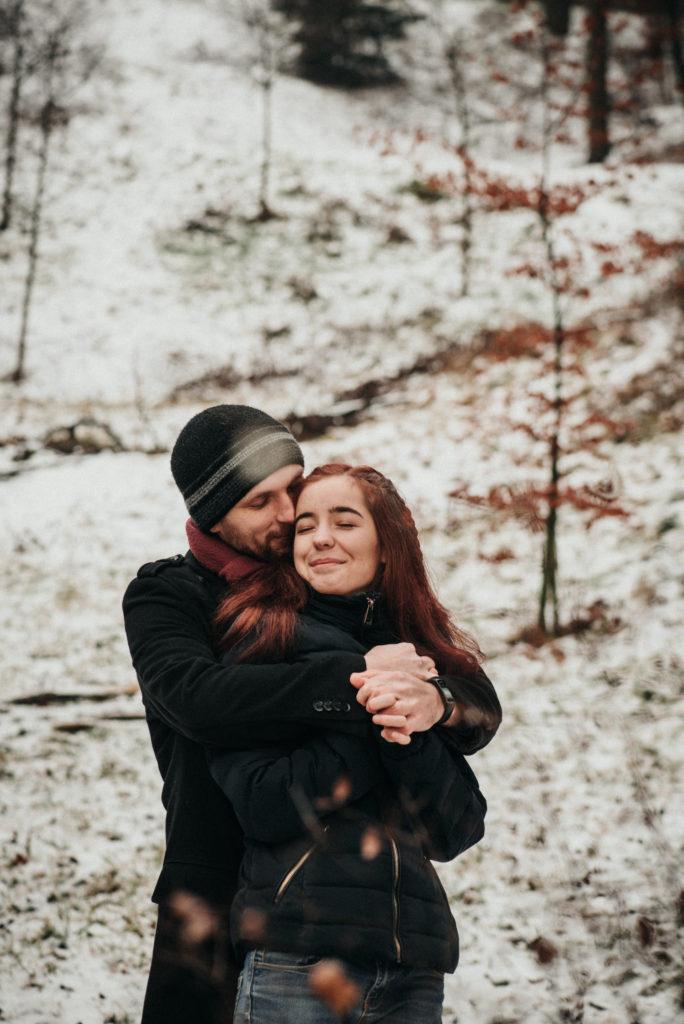 Focení na sněhu Brno