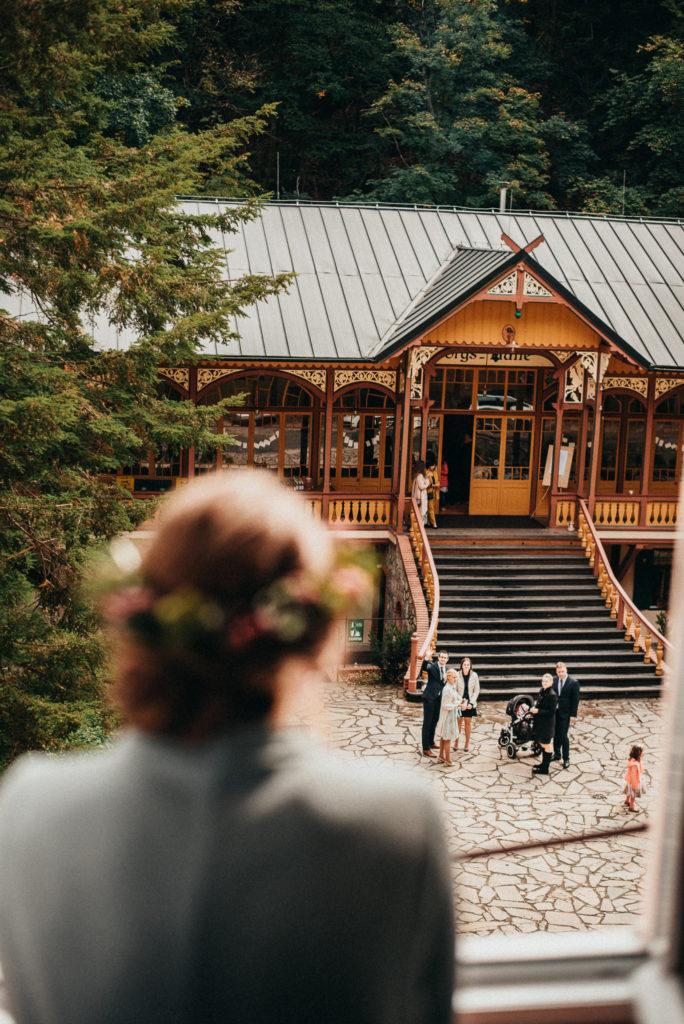 Svatba v Tančírně v Račím údolí