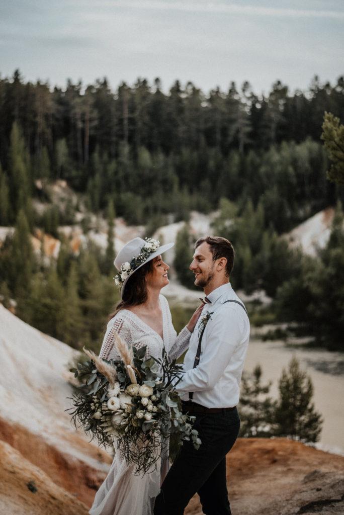 Lom Rudice svatba
