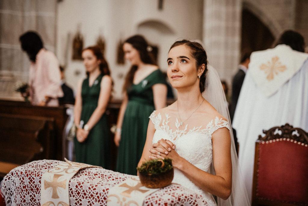 Svatební fotografka Brno - svatba v kostele Doubravník