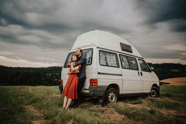 Obytná dodávka Volkswagen Transporter
