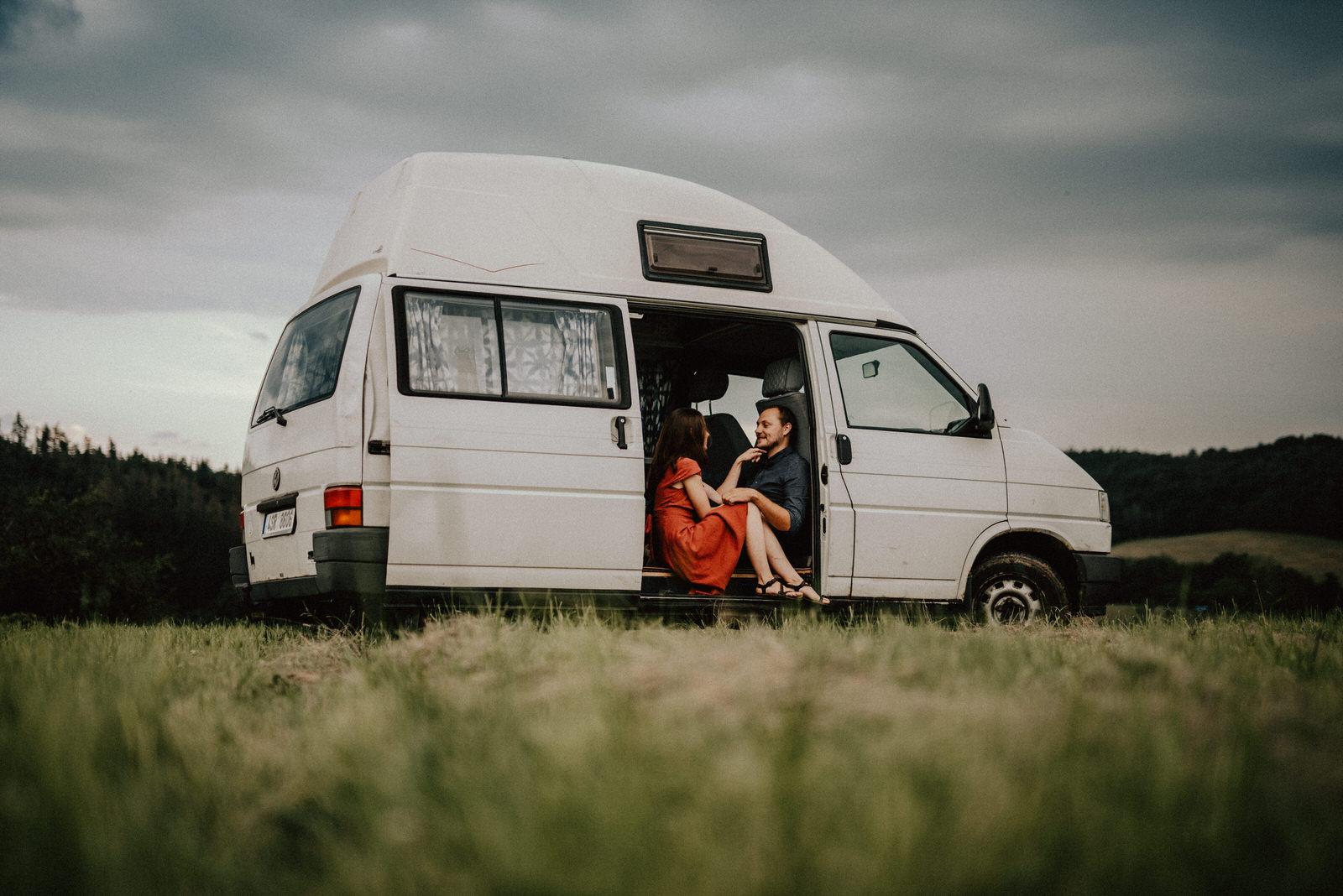 Obytná dodávka Volkswagen Transporter Fotografka Brno