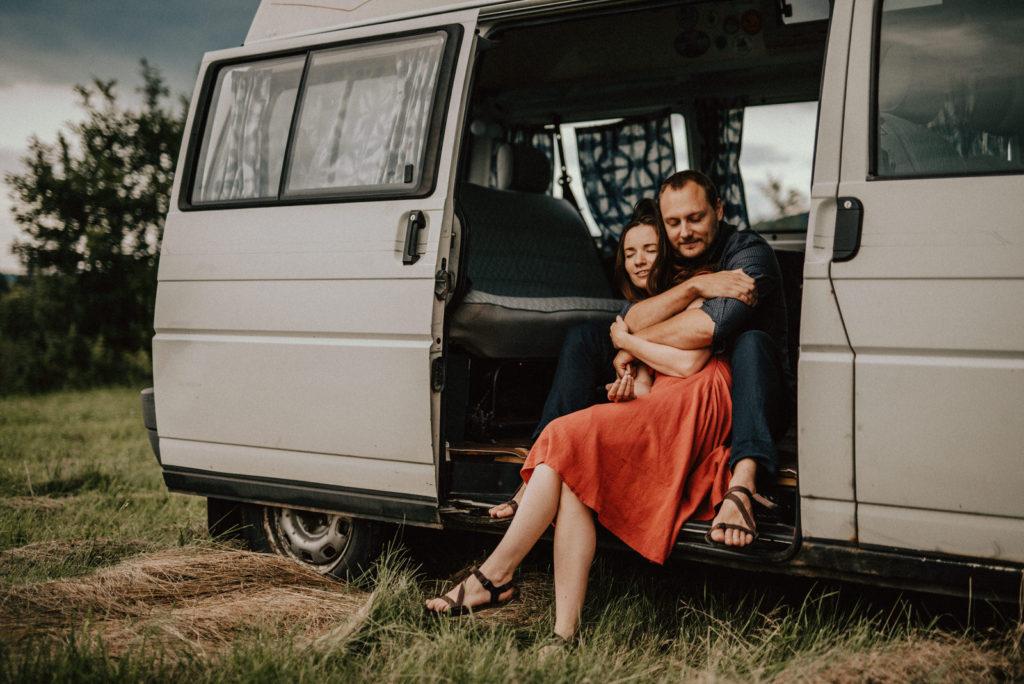 Van life couple Brno foto