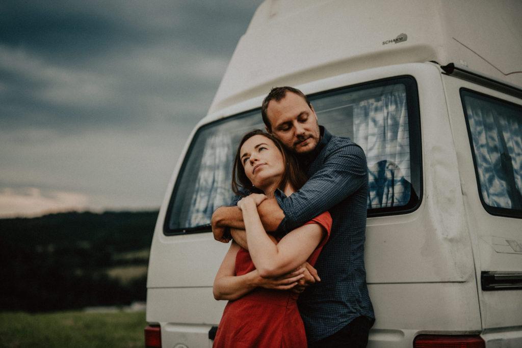 Obytná dodávka Volkswagen Transporter foto rno
