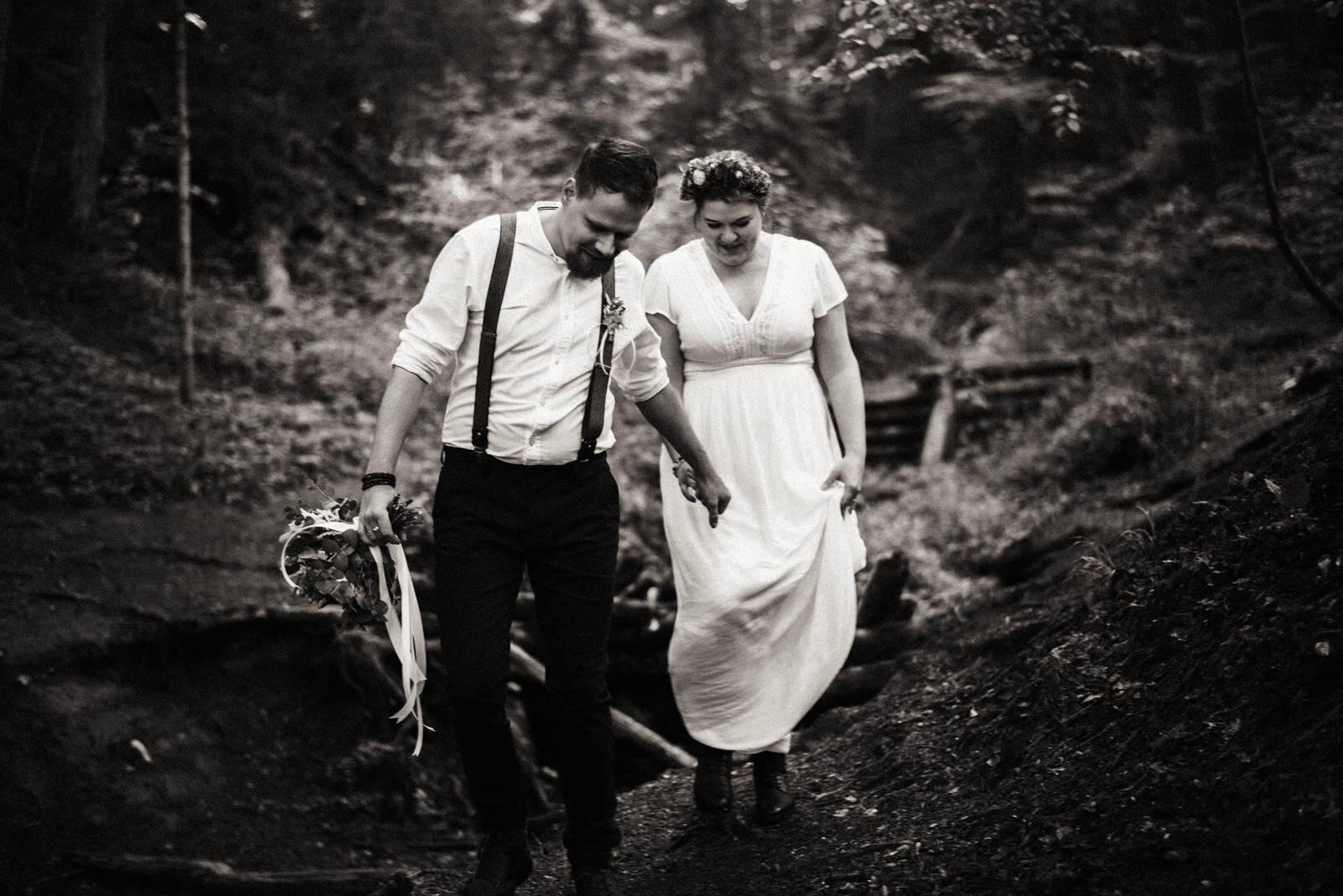 Malá svatba v Rudicích, Moravský kras
