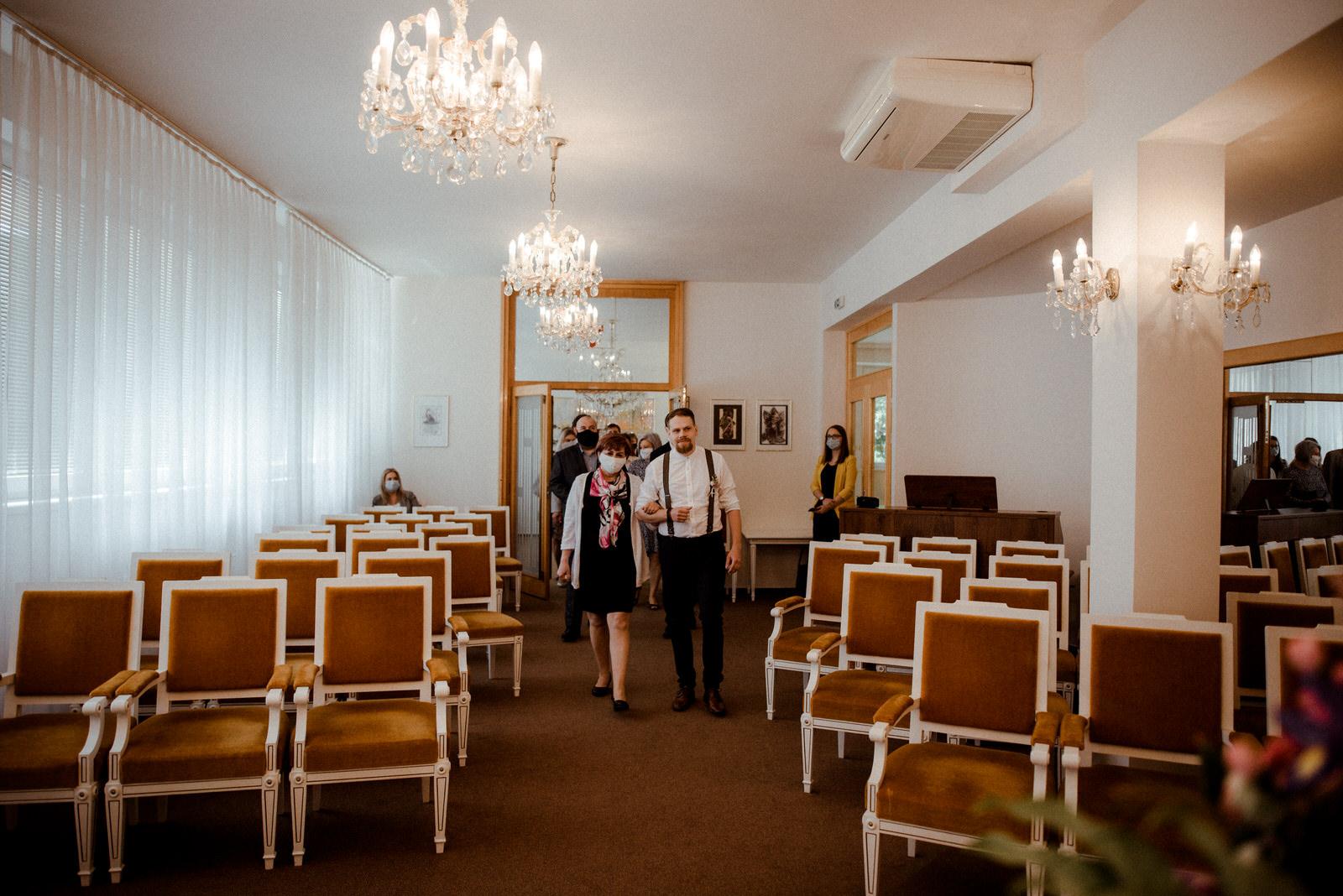 Obřadní síň Brno Černovice